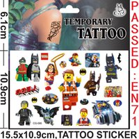 Wholesale CG94 Tattoos cute tattoo stickers for kids waterproof temporary tattoo for body art decoration fake tattoo stickers