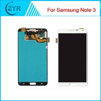 Wholesale For Samsung GALAXY Note3 N900 Digitizer LCD Screen Display N900 N900 N900T N900P N900A N9005 N900V Black White