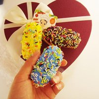 squishy - cm soft Squishy cake kawaii rare squishy cell phone bag charm strap for girl gift mix colors order