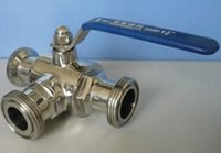 forged steel valves - Stainless Steel Sanitary Ball Valve
