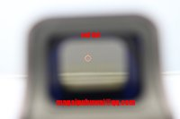 Wholesale 556 side red dot sight Red Green Holographic sights red dot scope sight Rifle Tactical Scope for gun mm Rail holographic sight