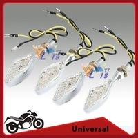 amber led flasher - 8mm Thread Motorcycle LED Turn Signal Blinker Light Motorbike Flasher Indicator Liamp Amber Lighting Universal order lt no track