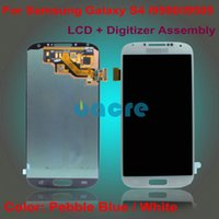 Wholesale Touch Screen Digitzer LCD Assembly Replacement Spare Parts Genuine Working for Samsung Galaxy S4 i9500 i9505
