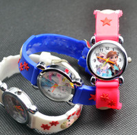 battery car child - NEW Cartoon D minion frozen snow white kittycat mouse spider man car watch kids children silicone cartoon watches christmas gift