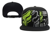 animal letter x - New Foxes Created To Destroy Snapback baseball cap F O X hot hiphop street sport Snapback men and woman hats unisex cotton leisure hat
