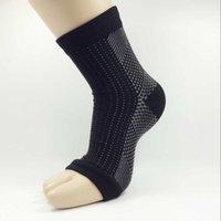 Wholesale 1 pc Ankle Support Brace Elastic Compression Wrap Sleeve Sports Relief Pain Foot For Man and Woman