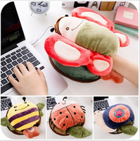 Wholesale 2105 New Cartoon Fever Mouse pads Insect Animal series USB Mouse Mats Animation Mice Wrist Rests Creative Mouse Pads