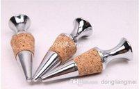 Cheap 200pc Brand new Twist corks zinc alloy round shape red wine bottle stopper wedding party gifts#Z310