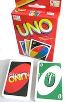 Wholesale UNO Card Game Playing Card Family Fun Games UNO Cards standard Cards