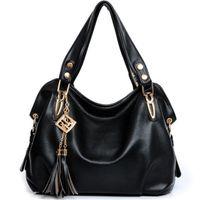 Wholesale Classy Tassels Hobo Bag High Quality PU Leather Bag Womens Autumn Handbags Clutch Shoulder Bags Women Messenger Bags