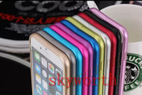 Wholesale Ultra Thin Aluminum Alloy Metal Bumper Frame Case Cover For iphone Plus inch