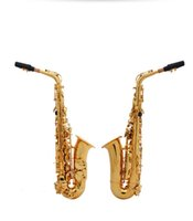 Wholesale High Quality E Flat Alto Saxophone Eb Musical Instrument Professional Saxphone Handmade Flower Saxphone