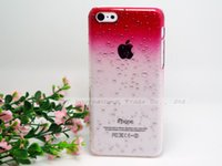 bags droplets - N10 Cover For Apple iPhone C Fresh Raindrops Gradient Crystal Droplets Phone Cases Bags For Apple iPhone5C Case Shell amp amp