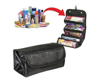 Wholesale New Arrivals Women Lady Cosmetic Makeup Case Zip Pouch Travel Toiletry Make Up Bag Organizer BX161