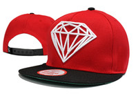 baseball cap forms - Diamond Supply Co classic Snapback Hats red black baseball caps Are The Most Popular Forms Of Head Wear TY