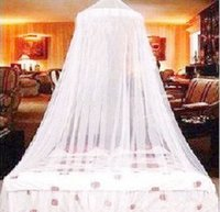 Cheap Wholesale-Bed Canopy Mosquito Fly Bug Insect Mosquito Net Netting Screen Mesh For Single Double Bed