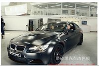 Wholesale High Quality M Matte Material Bubble Free Carbon Fiber Vinyl Car Wrapping Foil Black Matte Car Wrap Film