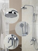 Wholesale 53035 New arrival bathroom wall mounted shower set faucet shower head