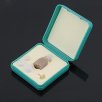 Wholesale F Best Sound Amplifier Adjustable Tone Hearing Aid Aids New Super mini size and light weight SJP