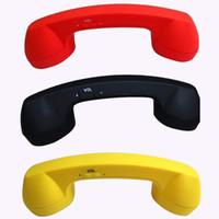al por mayor receptor de teléfono-El bluetooth sin hilos La más nueva radiación retra del auricular del microteléfono del receptor de teléfono retro para los teléfonos móviles en la promoción