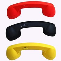 Wholesale Wireless bluetooth Newest Telephone Receiver Handset Earphone Anti radiation Retro For Mobile Phones on Promotion