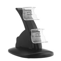 charger dock station stand - Dual Charging Charger Stand Dock Station Holder for Xbox One Controller Black F1397
