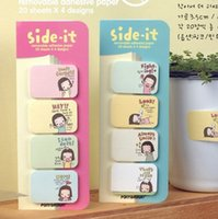 Wholesale A06 Niuzai creative stationery cute Little Red Riding Hood cookie girl small sticky notes affixed N times