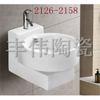 ceramic art basin - Ceramic art basin ceramic sanitary ware ceramic basin cabinet basin hanging Number