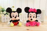 mickey mouse plush toy - Baby Soft Plush Toys Animals cm Mickey and Minnie Mouse Plush Dolls for Baby Boys and Girls Gifts
