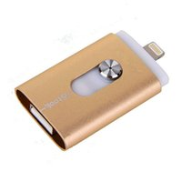 Wholesale 8GB GB GB GB Real Capacity OTG USB3 Flash Drive Pen drive Memory Stick i Flash drive for iphone s Tablet PC