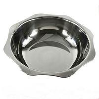 Wholesale Thick stainless steel soup pot clean hot sun octagonal basin fondue pot cooker gas stove promotional specials