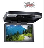 BMW mitsubishi tv - 15 Flip down Car DVD Monitor with USB SD MP5 IR FM Transmitter HDMI Wireless games