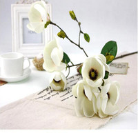 Wholesale Magnolia grandiflora simulation BonusSelling decorative home accessoriesGardening festival Party Decoration artificial flowers
