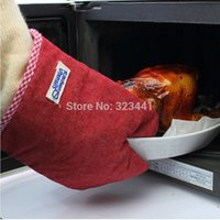 Wholesale SANADA Scald proof insulation microwave oven gloves CM order lt no track