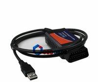 audi can bus - Auto Diagnostic Scan Tool ELM USB Version V1 ELM327 Interface USB OBD2 OBDII CAN BUS Plastic