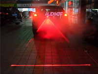 Wholesale Anti collision laser warning light of automobile car Laser rear fog light Universal Edition automotive safety crash warning lights