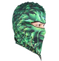 Wholesale Men s Cool Cycling Motorcycle Face Mask Cartoon Animal Print Cycling Ski Hat Veil Colors order lt no track