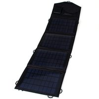Wholesale 14W Solar Charger Pack Foldable Portable Solar Panel Charger Pack for ipad iPhone Samsung Android Device