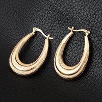 jewellery for sale - Hot Sale Items Basketball Wives Earrings K Gold Plated Hoop Earrings Fashion Jewelry For Women Jewellery E12086