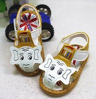 beef sandals - Summer s new children s shoes a toddler shoes cartoon in baotou Men s shoes beef tendon end baby sandals