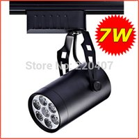 Wholesale 7W high power LED track lamp with brand energy saving LED for retail lighting White warm white Tracking Lamp