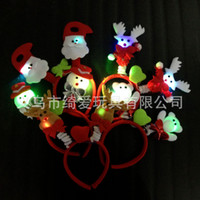band gif - 10 from the grant the new light emitting Christmas hair bands Santa hairpin Christmas ornaments christmas decoration Christmas gif