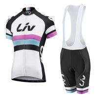 al por mayor pantalones cortos de ciclista xs para las mujeres-2016 mujeres Liv mujer Jersey de manga corta jersey maillot ciclismo mtb bicicleta ropa de ciclismo medias XS-4XL
