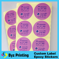 Wholesale Customer logo glossy waterproof honey bottle labels stickes paper strong adhesive printing health honey labels