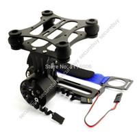aerial camera mount - Gopro CNC Brushless Camera Mount Gimbal w Motors for DJI FPV Aerial Photo BLACK W189