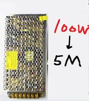 Wholesale power supply for M LEDs IC LED RGB Pixel Strip LPD8806 SMD Dream Color Flexible DC5V AC110 V HZ