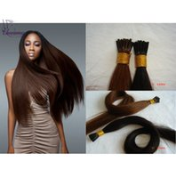 Wholesale Charming Hair Hot Sale Cheapest Product Malaysian Full Cuticle Virgin Remy Human I tip Keratin Hair Extensions