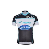 Wholesale factory Popular Style team quick step mens cycling clothing pro cycling wear good sale cycling jersey set