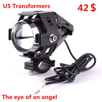 Wholesale Motorcycle off road vehicle modified headlamps LED lamp U5 Transformers laser super bright three pro