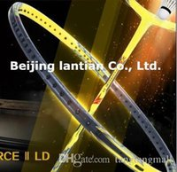 Wholesale New Arrived Hot piece VT Z FORCE II LD badminton racket VT ZF II LCW the thinnest shaft badminton racquet U and U JP version A5 A5